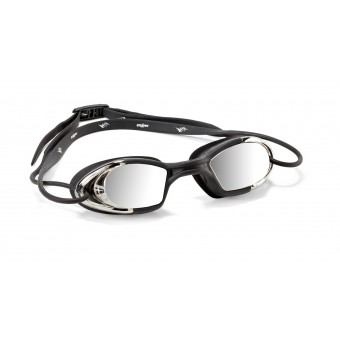 Goggle Lightning Mirror / Silver