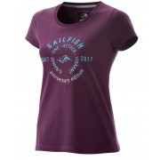 Womens T-shirt Anniversary berry
